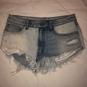 Carmar x Furst of a kind denim shorts